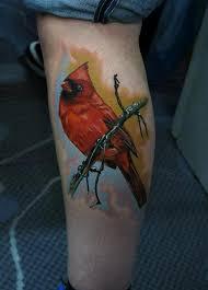 Cardinal Tattoo 37