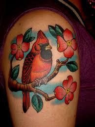 Cardinal Tattoo 38