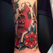 Cardinal Tattoo 6