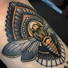 Cicada Tattoo 25