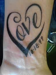 Date Tattoos 22
