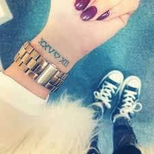 Date Tattoos 38