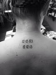 Date Tattoos 41