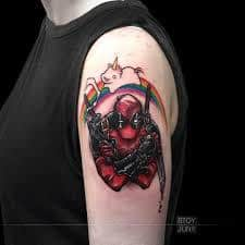What Does Deadpool Tattoo Mean 45 Ideas And Designs