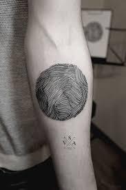 Fingerprint Tattoo 26
