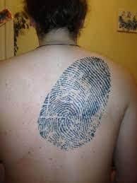 Fingerprint Tattoo 32