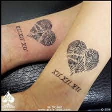 Fingerprint Tattoo 43