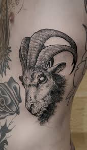 What Does Goat Tattoo Mean 45 Ideas and Designs