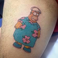 Homer Simpson Tattoo 1