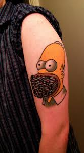 Homer Simpson Tattoo 10