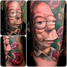Homer Simpson Tattoo 18