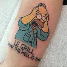 Homer Simpson Tattoo 26