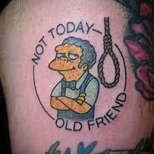 Homer Simpson Tattoo 29