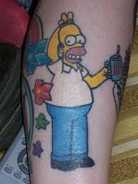 Homer Simpson Tattoo 46