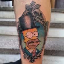 Homer Simpson Tattoo 47