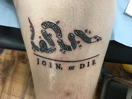 Join or die tattoo 7 tattoo seo for Join or die tattoo