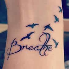 Just Breathe Tattoo (39) – Tattoo SEO