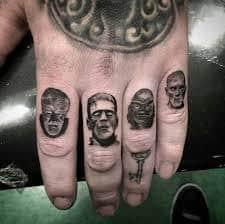 Knuckle Tattoos 13