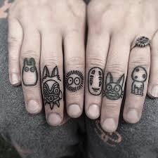 Knuckle Tattoos 17