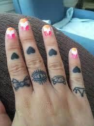 Knuckle Tattoos 43