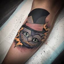 Mad hatter tattoos pictures