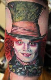 Tattoo designs hatter mad What Does