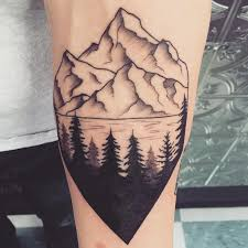What does pine tree tattoo mean ideas designs for What does a tree tattoo mean
