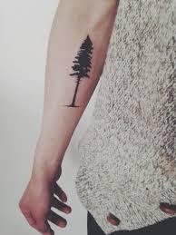 Pine Tree Tattoo 12