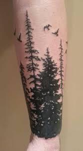 Pine Tree Tattoo 16