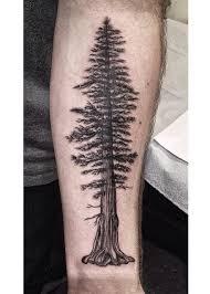 Pine Tree Tattoo 20
