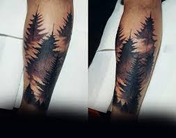 Pine Tree Tattoo 25