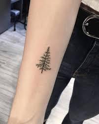 Pine Tree Tattoo 4