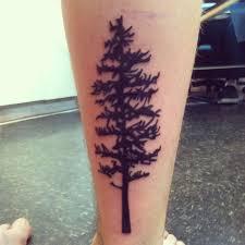 Pine Tree Tattoo 43