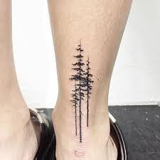 Pine Tree Tattoo 44