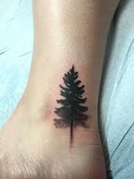 Pine Tree Tattoo 7
