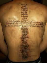 What Does Psalm 23 Tattoo Mean 45 Ideas And Designs