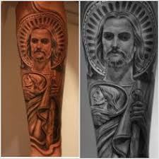 san judas tadeo tattoo meaning ideas designs sleeve. Black Bedroom Furniture Sets. Home Design Ideas