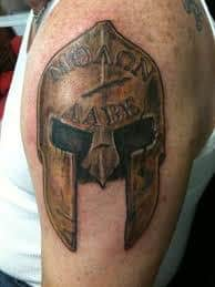 What Does Spartan Tattoo Mean Represent Symbolism