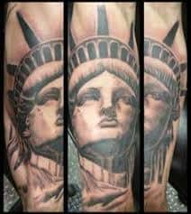 Statue Of Liberty Tattoo Meaning 45 Ideas And Designs
