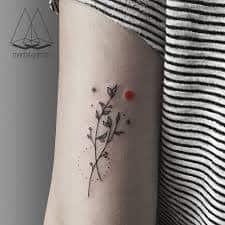 Tricep Tattoo 25