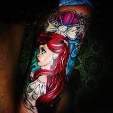 Ariel Tattoo 14