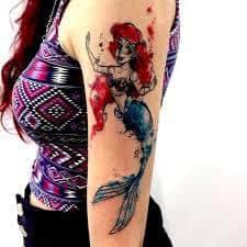 Ariel Tattoo 18
