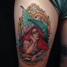 Ariel Tattoo 23