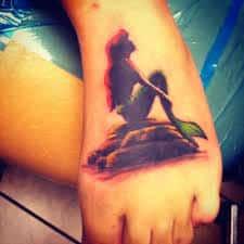Ariel Tattoo 24