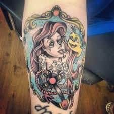 Ariel Tattoo 28