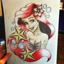 Ariel Tattoo 34