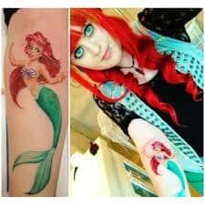 Ariel Tattoo 36