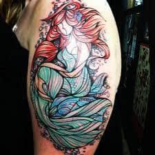 Ariel Tattoo 37