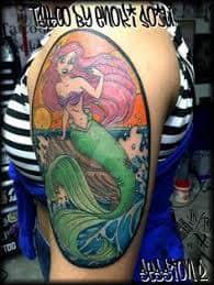 Ariel Tattoo 39