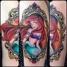 Ariel Tattoo 5